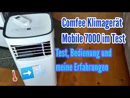 comfee klimagerät mobile 7000 lidl test meine