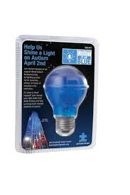 the home depot autism speaks blue light bulbs are now