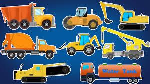 Trucks And Equipment | Construction Vehicles | Kids Vehicles – Kids ...