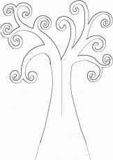 Best Photos Of Tree Trunk Printable Template