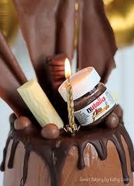 schoko kirsch torte mit nutella schokoladenwahnsinn kathy