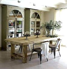 Rustic Round Kitchen Table For Dining Medium Size Of