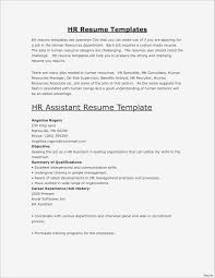 Resume Format Template Awesome Cv Valid Unique Pr