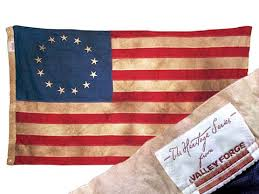 Valley Forge Cotton American Flags Heritage Series