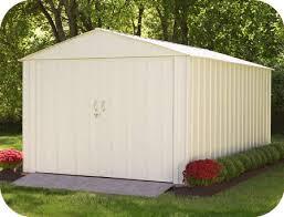 metal sheds steel storage shed kits