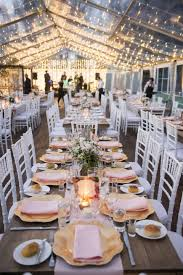 Andrew Tegans French Country Wedding Clear Marquee Reception
