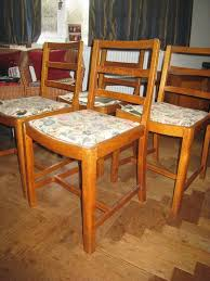 VINTAGE DINING ROOM CHAIRS (CC41 Utility Stamped) - SET OF 4 | In  Haslemere, Surrey | Gumtree