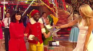 Kim Wilde Rockin Around The Christmas Tree by Melvin Odoom Crowned Champion In Strictly Come Dancing Christmas