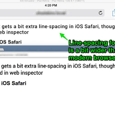 Html Letter Spacing Lovely why is Ios Safari Adding Extra Letter
