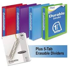 Decorative 3 Ring Binders by Binders U0026 Accessories For Less Overstock Com