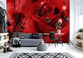 vlies fototapete blumen abstrakt tapete wohnzimmer