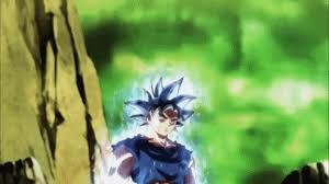 Ultra Instinct Goku Powers Up Against Kefla Brand New GIFS