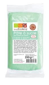 pâte à sucre vert d eau 250 g scrapcooking cuisinneaddict
