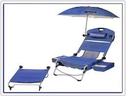 Beach Chair With Footrest And Canopy by Folding Lounge Beach Chair Footrest Lightweight Portable With