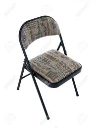 Folding Office Chair With Soft Seat Cushion.