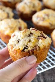 Bisquick Pumpkin Oatmeal Muffins by Savory Bacon Cheddar Muffins