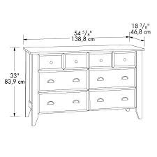 shoal creek dresser jamocha sauder shoal creek jamocha wood dresser 409937 pertaining to
