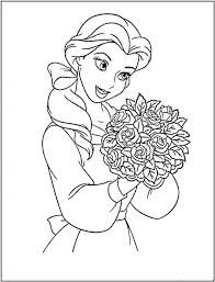 Princess Coloring Pages Games Free Printable Barbie Book Jasmine