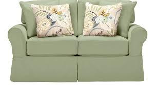 Cindy Crawford White Denim Sofa by 735 00 Beachside Green Loveseat Classic Casual Cotton