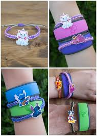 Style Your Disney Magic Bands With Adorable Handmade Bracelets Follow This Easy Tutorial To Learn
