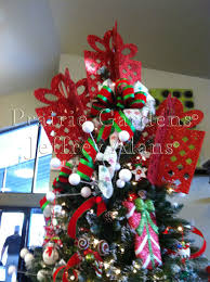 Christmas Tree Toppers Ideas With Ribbon Target Owl Rh Forumfranceinde Com DIY Topper Rustic