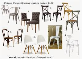 Dining Room Chairs Under 100 by Whimsy Friday Finds Dining Chairs Under 100