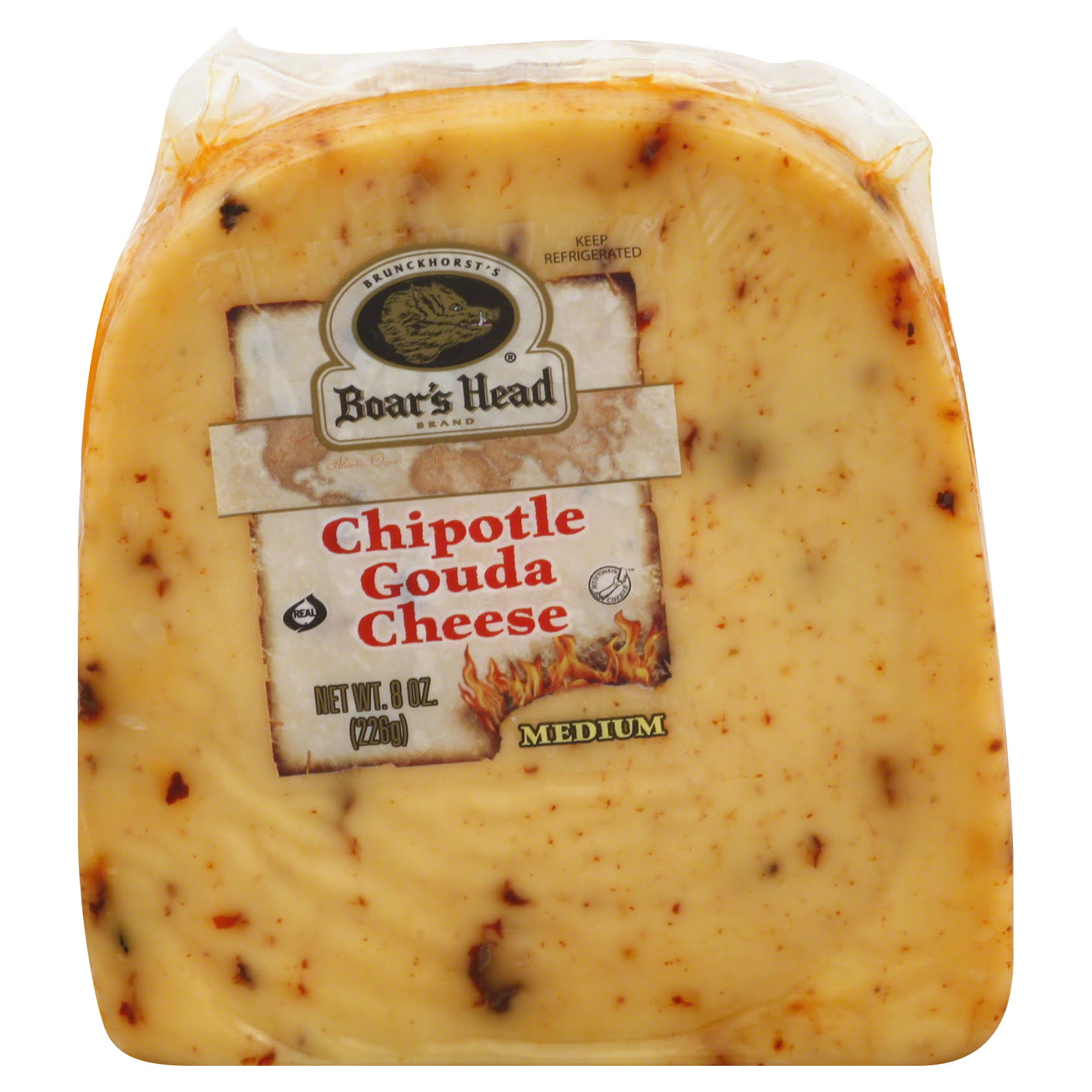 Boars Head Cheese, Chipotle Gouda - 8 oz