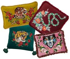 The Opulent Velvet Cushions From GBP795 Come In A Variety Of Shapes And