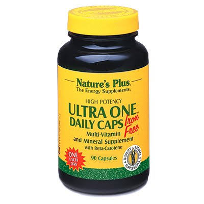 Nature's Plus Ultra One Daily Caps Iron - 90 Capsules