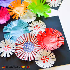 Cupcake Liner Fireworks Craft For Kids Make Colorful That Seem To Burst Off The