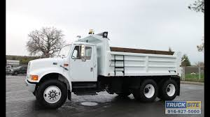 100 12 Yard Dump Truck 1997 International 4900 10 For Sale By Site