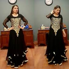 Latest Pakistani Dresses Designs For Girls 2017 18 5