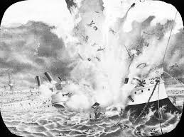 Pictures Of The Uss Maine Sinking by Instigating An Empire American Empire Dpla Omeka
