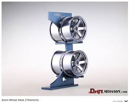 Wheel Rack Display Nzo 110 Scale Aluminum Driftmission Your Home