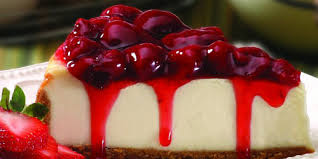Raw White Chocolate Cheesecake with Berry Sauce