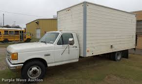 1989 Ford F350 Box Truck | Item DS9114 | SOLD! May 2 Governm...