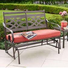 Boscovs Patio Furniture Cushions by Incredible Gliding Patio Furniture Sag Harbor 3pc Patio Glider