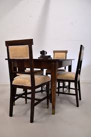 Art Nouveau Dining Set - Vintage Objects Set Of 4 Quality Art Nouveau Golden Oak High Slat Back Ding Chairs 554 Art Nouveau Ding Table And Chairs 3d Model Vintage 6 Antique French 1900 Walnut Nailhead Set 8 Edwardian Satinwood Beech Four Art Nouveau Louis Majorelle Ding Chairs Jan 16 2019 Room And Sale Mid Century Hand Made Game By Terry Bostwick Casa Padrino Luxury Dark Brown Cream 51 X Round In The Unique Timeless Tufted Armchair Chair Blue Velvet Navy 1900s Vinterior