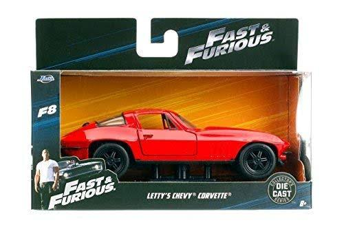 Jada Diecast Fast & Furious Chevy Corvette Model Kit - 1/32 Scale