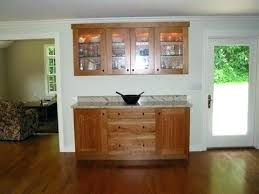 Dining Room Storage Furniture Solutions Traditional Buffet Hutch For