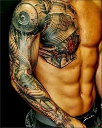 Chest Tattoo Designs For Men And Women 12