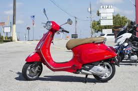 2018 Vespa Primavera 150 ABS Rosso Passione For Sale In Colleyville TX