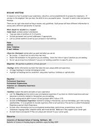 Example Resume Profilel Sample Profile Statement For How Write Examples Of Career Objective Nursing Personal Students