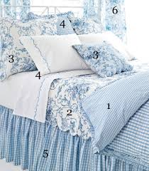 Pine Cone Hill Cottage Toile Bedding