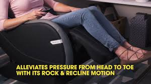React Massage Chair Brookstone by Connected Life Brookstone Massage Chair Youtube