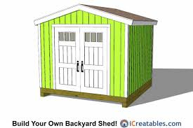 Free access 10x10 shed plans