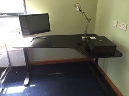 Ikea Bekant L Shaped Desk by Ikea Bekant Corner Desk In Southside Glasgow Gumtree