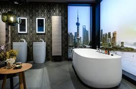 houzz studie moderner stil im badezimmer gefragt möbelmarkt