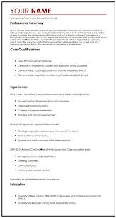 CV Example With A Personal Statement