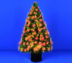6ft Fibre Optic Christmas Tree Black by Fibre Optic Christmas Tree Christmas Lights Decoration